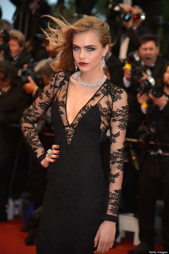 Cannes Film Festival: Cara Delevingne Smoulders At The Great Gatsby Premiere, Still Manages Funny Face (PICTURES)