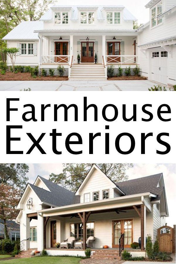 10 Seriously Inspiring Farmhouse Exteriors Farmhouse Exterior Country House Decor Country Style Homes