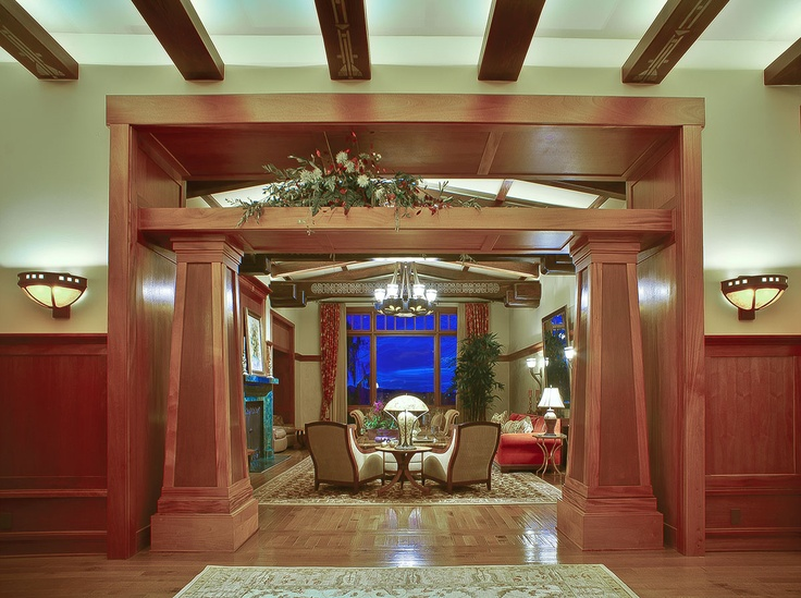 Bungalow Foyer Design : Best craftsman entryways and foyers images on pinterest