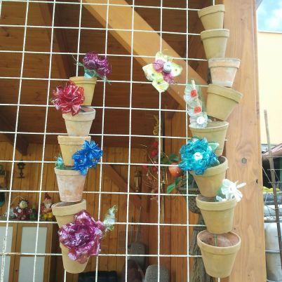 Make a Garden Decoration from Flower Pots