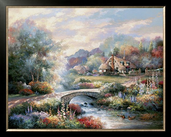 Needlework Craft Home decor French DMC Quality Counted Cross Stitch Kit/Set DIY Oil painting
