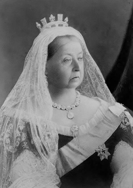 Queen Victoria, ca 1890