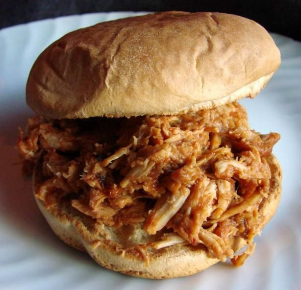 Crock Pot Chicken Barbecue - making it this weekend for my in-laws!