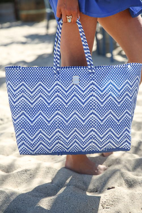 25 best beach bags images on Pinterest | Beach bags, Beach totes ...