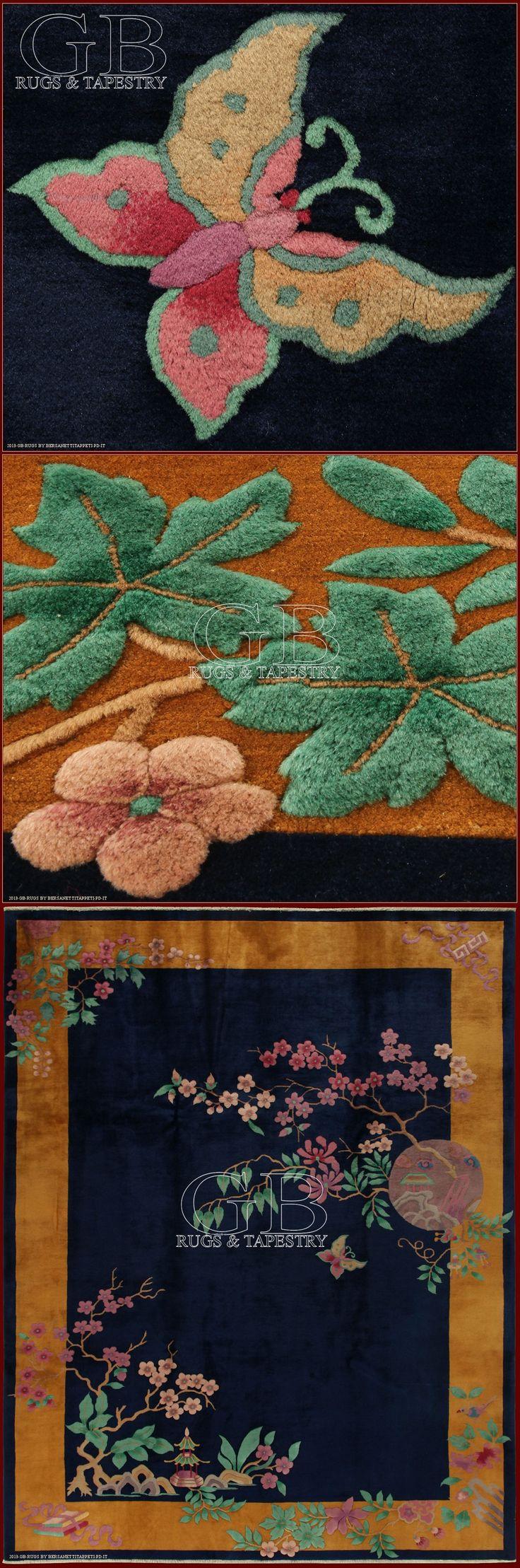 I tappeti cinesi Nichols, comunemente chiamati anche Cina Déco, nascono intorno agli anni 20 per iniziativa di Walter Nichols , mercante statunitense che trasferitosi in Cina aprì nel 1924 una manifattura di tappeti particolarmente diversi rispetto al tradizionali tappeti cinesi.