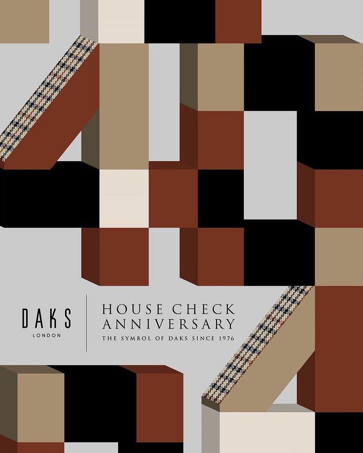 DAKSハウスチェック40周年 #DAKS #ダックス #ハウスチェック