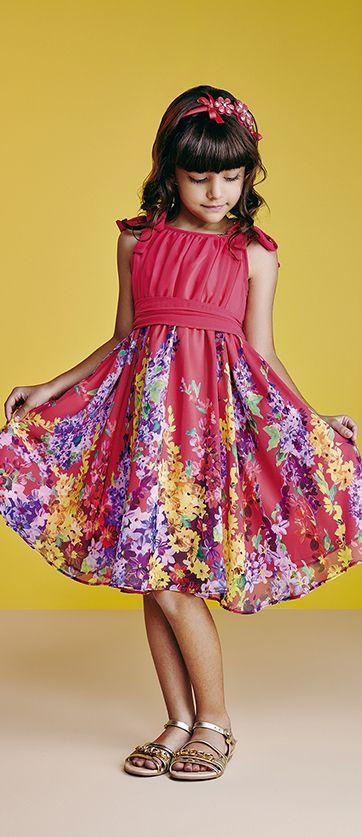 Animê   Verão 2014/15   moda infantil feminina