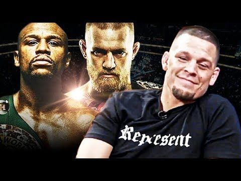 Nate Diaz Reacts To Mayweather vs McGregor Official Announcement - MMA Maxim