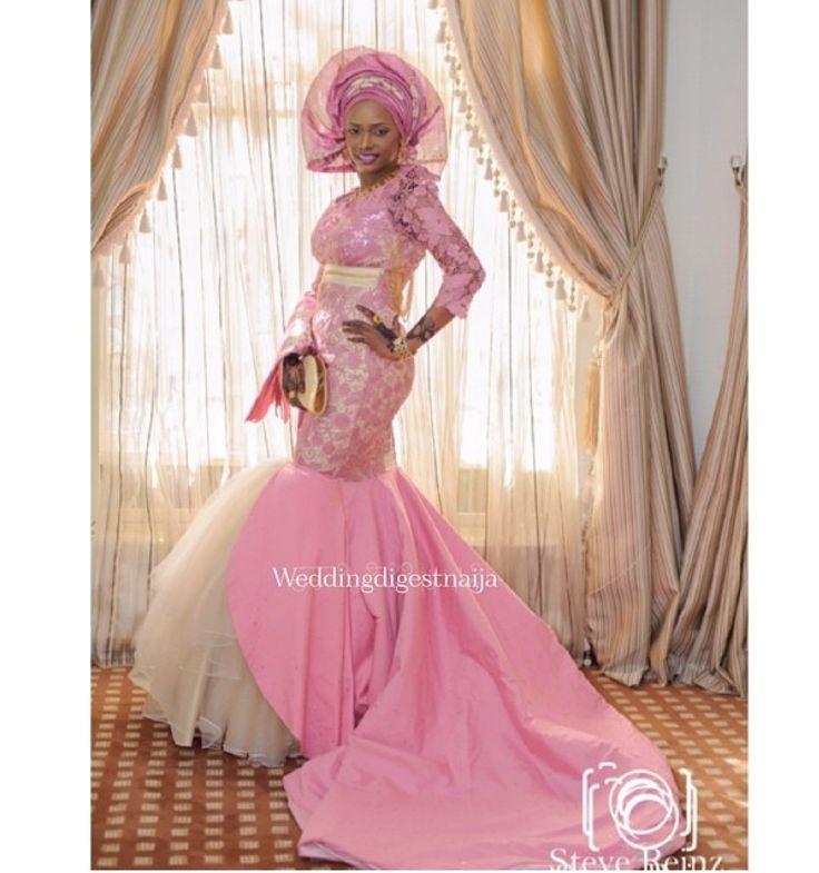 15 mejores imágenes de ropa iyawo en Pinterest | Los vestidos, Alta ...