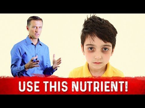 Why the Dark Circles Under Your Child's Eyes - YouTube