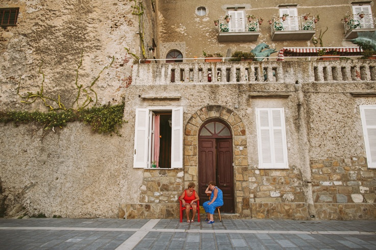 A beautiful town of Santa Maria di Castellabate