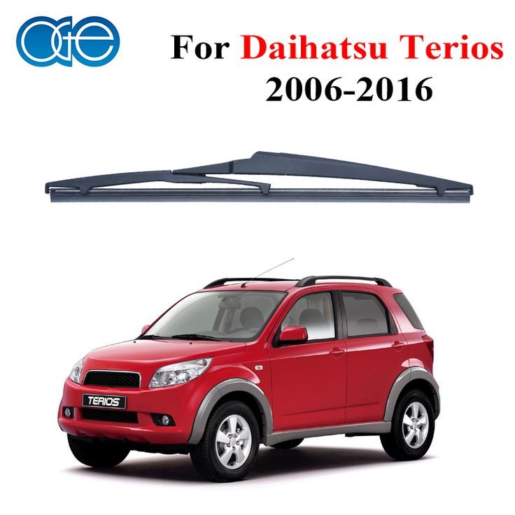 Oge 12'' Rear Wiper Blades No Arm For Daihatsu Terios 2006 Onwards Windscreen Windshield Auto Car Accessories A1-30 #Affiliate