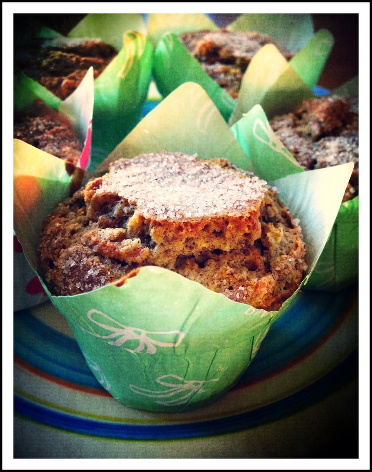 Rejuvenated - Carrot Cake Muffins