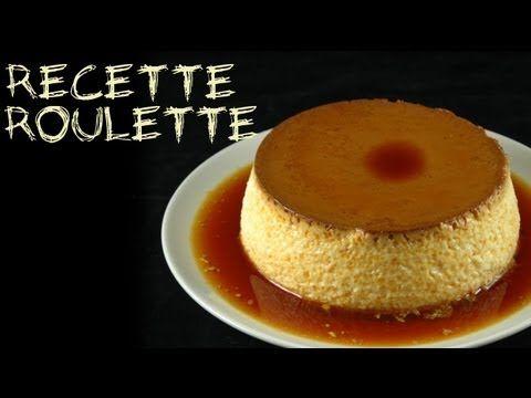 Recette : Crème renversée au caramel !
