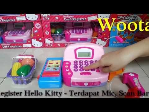 Mainan Mesin Cashier Karakter Hello Kitty Intelligence Cash Register
