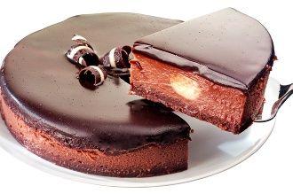 Vynikajúci čokoládový cheesecake, ktorému neodoláte