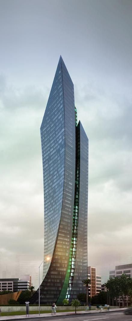 Port Baku Iii Tower Baku Azerbaijan Architecture