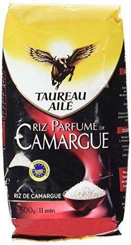 Taureau Ailé Riz Parfumé de Camargue 500 g: Naturellement parfumé, ce riz a profité des embruns des marais salants d'Aigues Mortes, lui…