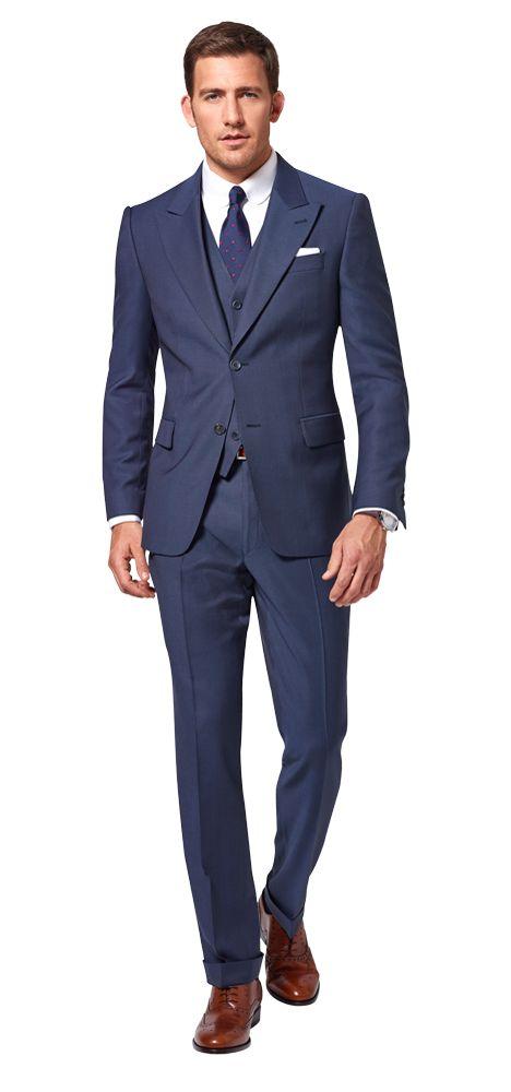 die besten 25 blauer anzug ideen auf pinterest anzug. Black Bedroom Furniture Sets. Home Design Ideas