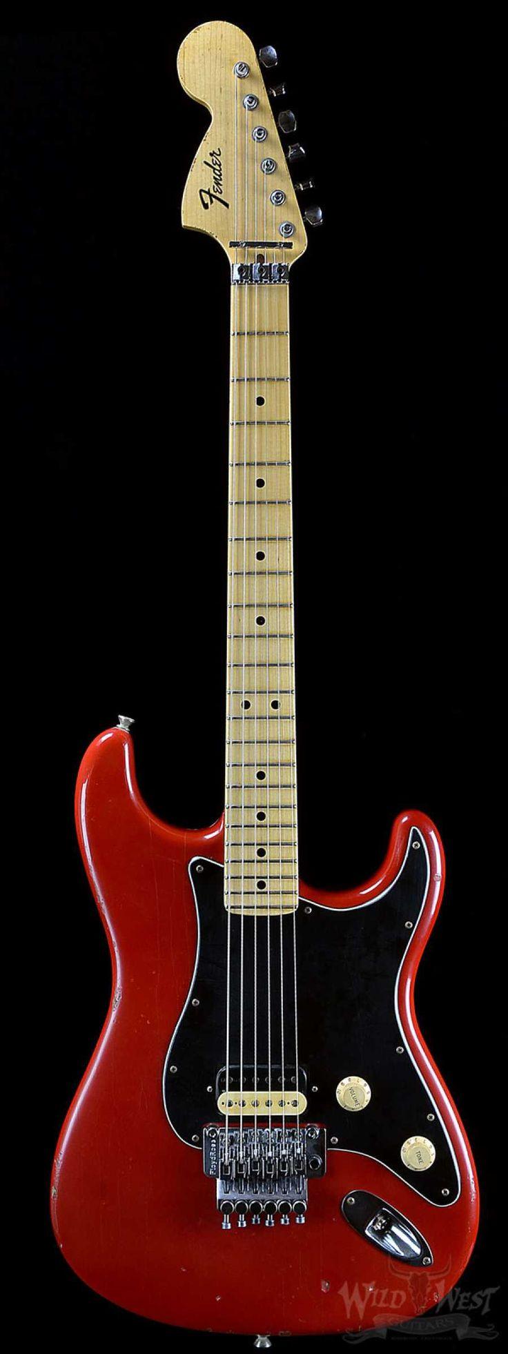 Fender Masterbuilt Jason Smith Relic Dakota Red 1969 Stratocaster w/ Floyd Rose - Wild West Guitars