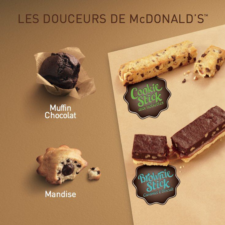 26 crazy McDonald's items you can't get in America - McDonald's France's desserts