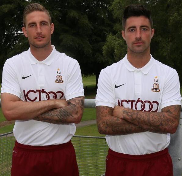 New Bradford City Away Kit 2014 15