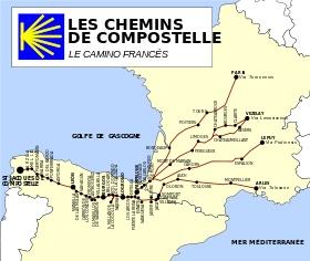 Le Camino francés (Iter francorum en latin ou «Chemin des Francs» en français) est aujourd'hui l'itinéraire le plus fréquenté en Espagne pour le pèlerinage de Saint-Jacques-de-Compostelle.