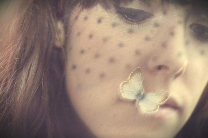 selfportrait with butterfly
