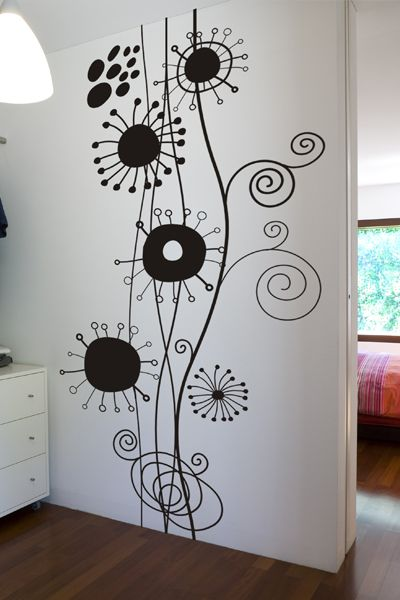 Decoracion paredes abstractas buscar con google ideas negocio pinterest - Decoracion vinilos adhesivos ...