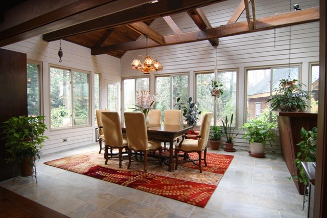 Sunroom dining room sunrooms and additions pinterest sunroom dining sunroom and sunrooms - Sunroom dining room ...