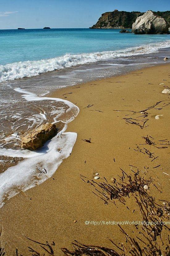 Avithos Beach, Kefalonia, Greece