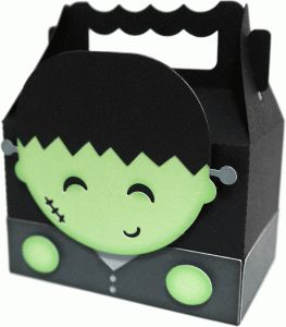 cute frankenstein box by Nilmara Quintela