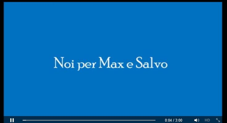 Claudio Alibrandi  Piccolo video realizzato in onore del nuovo gruppo: Noi per Max e Salvo. Emoticon wink Spero sia di vostro gradimento. Emoticon smile  https://www.facebook.com/claudio.alibrandi.58/videos/vb.100005633490225/313554782175636/?type=2&theater