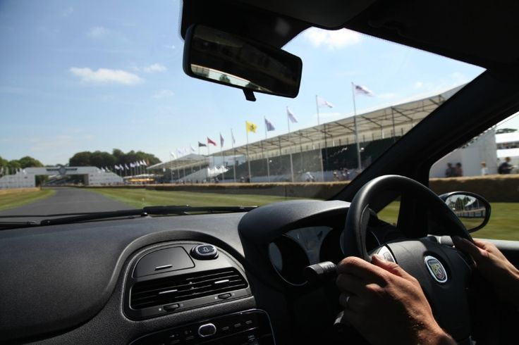 Abarth UK at the Goodwood FOS Moving Motor Show