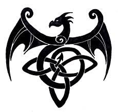 Image result for ancient celtic dragon