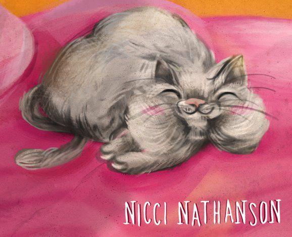 Cat illustration by Nicci Nathanson www.niccinathanson.com