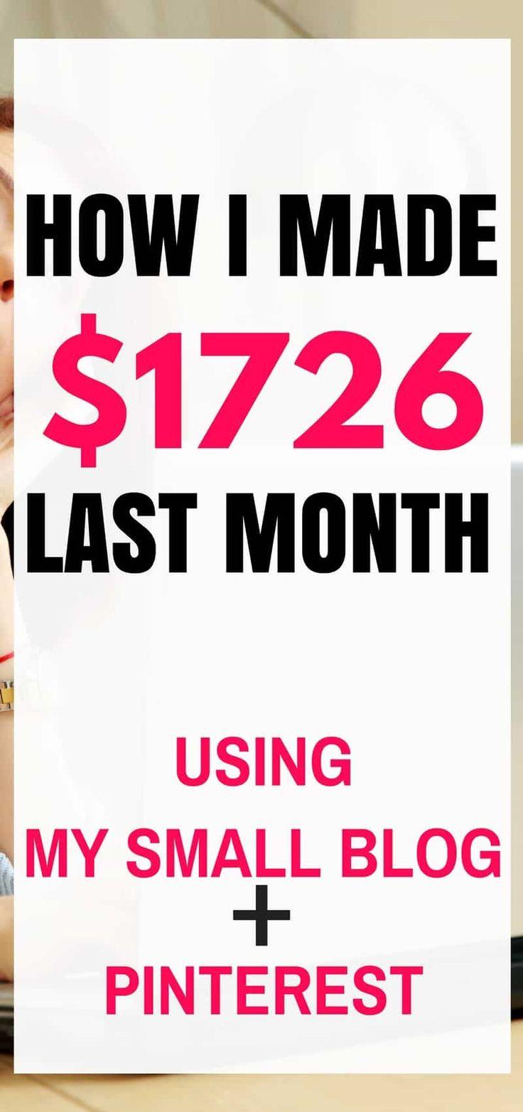 Wie man mit Pinterest und einem Blog Geld verdient | Einkommens- und Verkehrsbericht | Möglichkeiten um …   – Pinterest marketing