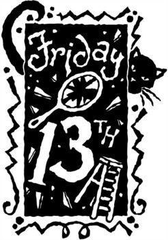 Its Friday the 13th!! Came across some interesting Superstitions of Friday the 13th ;)