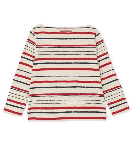Petit Bateau x Ines de la Fressange Paris women's nautical shirt