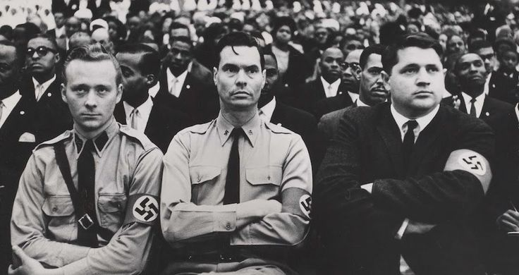 Who Was George Lincoln Rockwell, The Founder Of The American Nazi Party? - http://all-that-is-interesting.com/george-lincoln-rockwell?utm_source=Pinterest&utm_medium=social&utm_campaign=twitter_snap