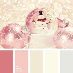 Snow globe palette