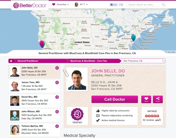 BetterDoctor- Find the best doctor for you