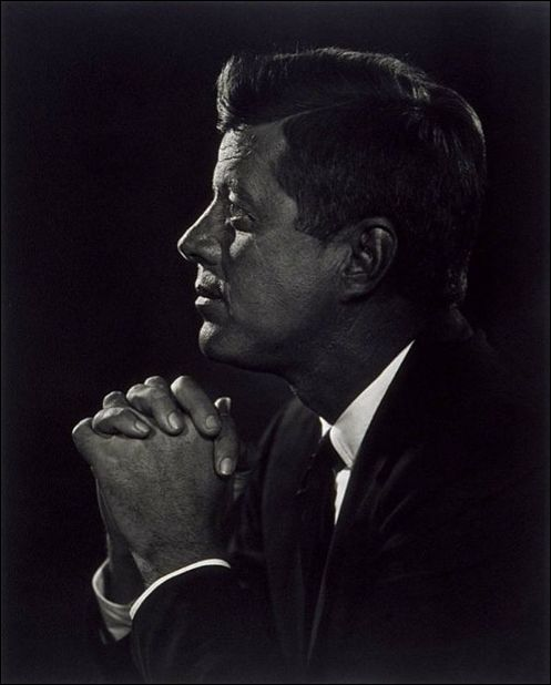 Photo Portraitist Yousuf Karsh, John F. Kennedy portrait