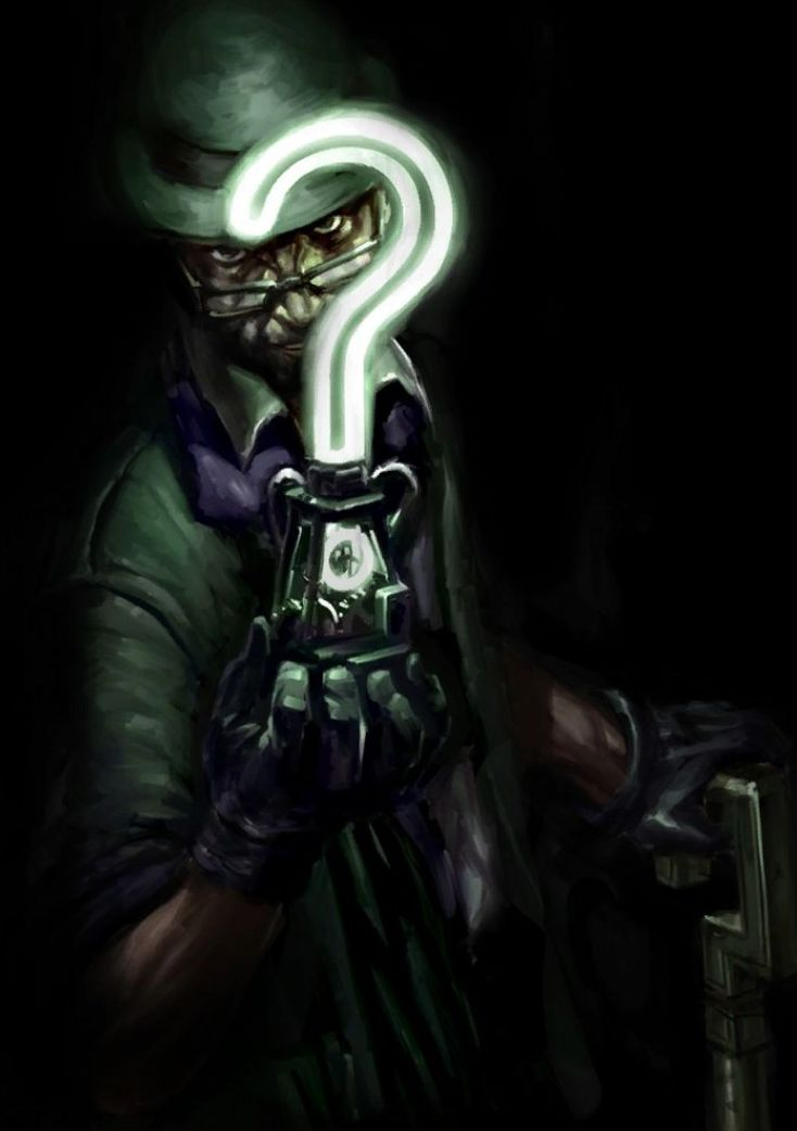This would be a pretty cool version of The Riddler to see on film.