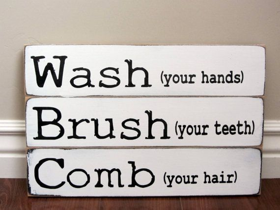 Bathroom Signs Wash Your Hands 18 best wash your hands images on pinterest | bathroom ideas