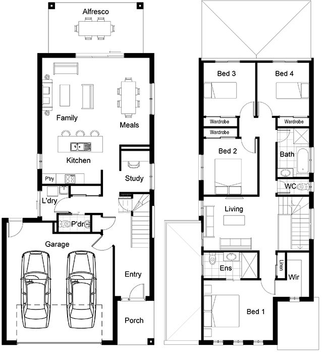 151 Best Plans Multi Family Images On Pinterest Small