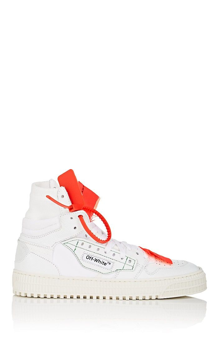 Off-White c o Virgil Abloh Women s 3.0 Leather   Canvas Sneakers ... c84f72dfa