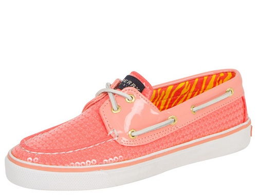 Idk which ones?Shoes, Coral 79 99, Coral Sequins, Eye Sequins, Fashion, Neon Coral, Saia Mini-Sequins, Sequins Sperrys, Sequins Neon