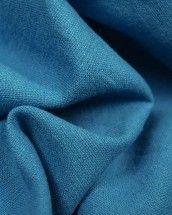 Linen & Cotton Blend Fabric - Peacock