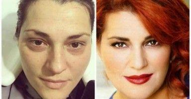 ΠΡΙΝ και ΜΕΤΑ το μακιγιάζ- 40 διάσημες… αγνώριστες!